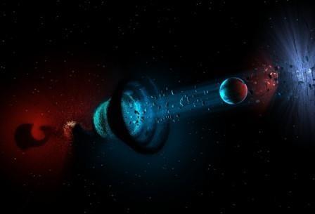 В центре нашей галактики может находиться кротовая нора