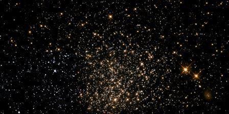 В далеком звездном скоплении ngc 1651 все звезды одного возраста