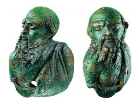 В дании найдена бронзовая фигурка эпохи октавиана августа