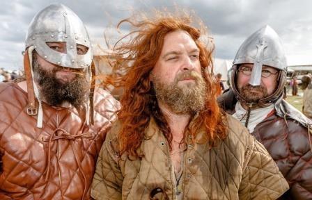 В дании найдена крепость викингов эпохи харальда синезубого