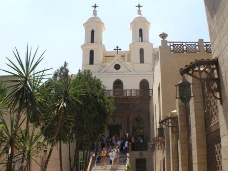 В египте завершена реставрация древней церкви