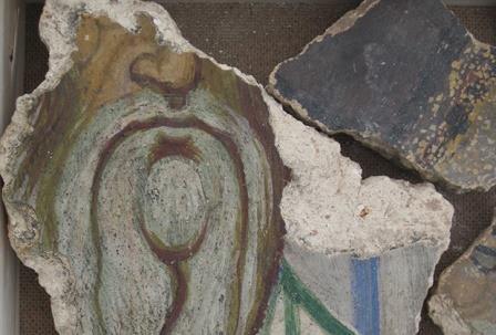 В георгиевском соборе новгорода обнаружены фрески начала xii века