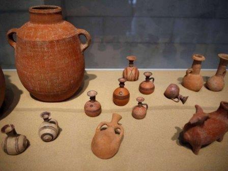 В израиле впервые найдено кладбище филистимлян