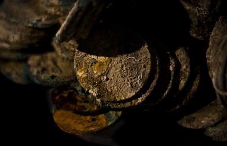 В японии обнаружили клад в 40 тысяч медных монет