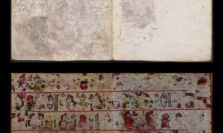 В кодексе времен доколумбовой америки обнаружен скрытый текст