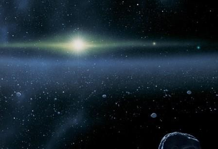 В молодой солнечной системе могла иметься еще одна планета-гигант