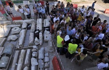 В салониках обнаружена гробница с фресками iv века до н. э.