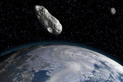 В среду с землей сблизится крупный опасный астероид