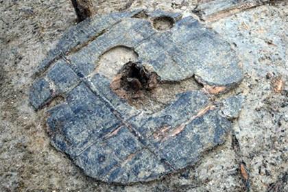 В великобритании нашли древнейшее огромное колесо