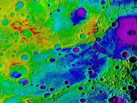 Великая долина меркурия превосходит большой каньон в аризоне