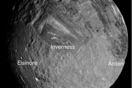 Венцы на луне урана образовались из-за приливов