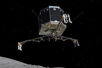 Видео столкновения модуля philae с кометой чурюмова-герасименко