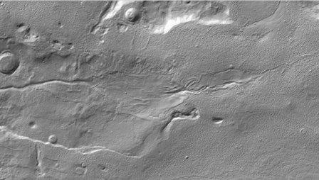 Вода текла по поверхности марса в эпоху динозавров