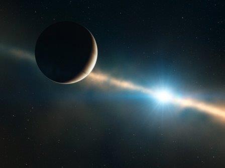 Впервые измерена продолжительность суток на экзопланете