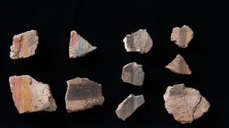 Загадочные детские следы в древнеегипетском храме