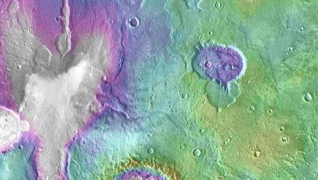 Зонд наса обнаружил следы «недавних» озер на марсе