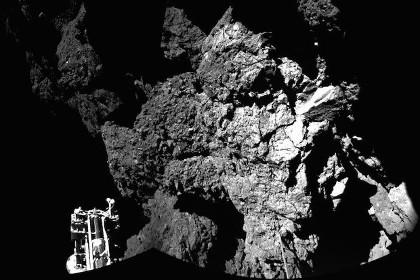 Зонд philae обнаружил на комете органические соединения